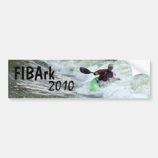 FIBArk 2010 Bumper Sticker