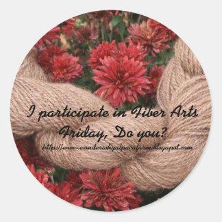 Fiber Arts Friday Sticker