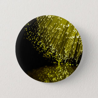 Fiber optic abstract. 2 inch round button