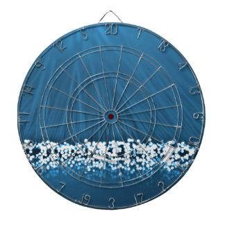 Fiber optic abstract. dart board
