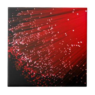 Fiber optic abstract. tile