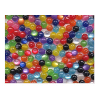 Fiber Optic Beads Postcard