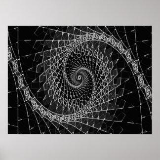 Fibonacci Black, Poster