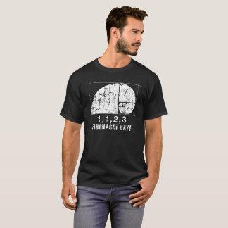 Fibonacci Day, 1,1,2,3, November, 23, Distressed T-Shirt