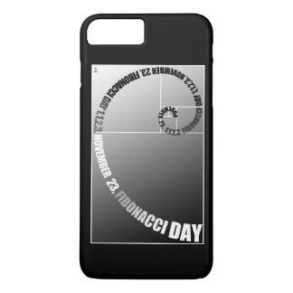 Fibonacci Day, 1,1,2,3, November 23 iPhone 8 Plus/7 Plus Case