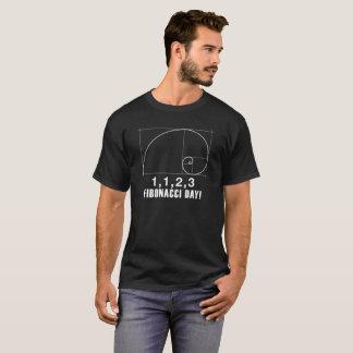 Fibonacci Day, 1,1,2,3, November, 23, T-Shirt