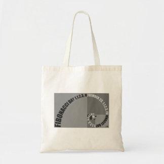 Fibonacci Day, 1,1,2,3, November 23 Tote Bag