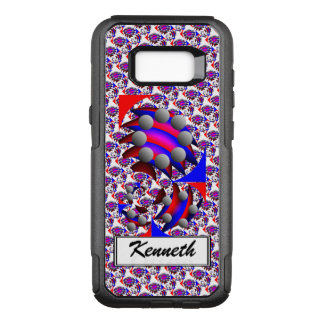 Fibonacci 'Fish' by Kenneth Yoncich OtterBox Commuter Samsung Galaxy S8+ Case