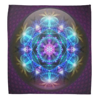 Fibonacci Flower Mandala Bandana