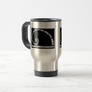 Fibonacci Numbers,  Golden Ratio Travel Mug