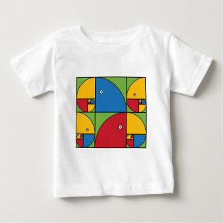 Fibonacci Parrots Baby T-Shirt