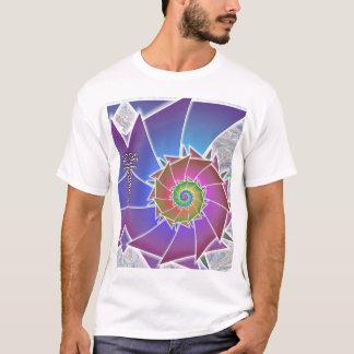 Fibonacci Rainbow Spiralism Shirt