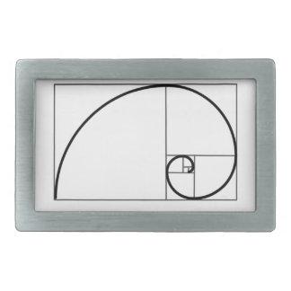 Fibonacci Ratio Belt Buckles