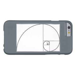 Fibonacci spiral cell phone case