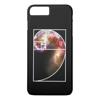 Fibonacci Spiral Galaxy iPhone 8 Plus/7 Plus Case