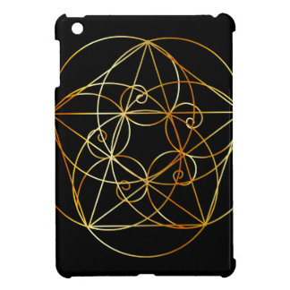 Fibonacci Spiral- The sacred geometry iPad Mini Cover