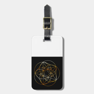 Fibonacci Spiral- The sacred geometry Luggage Tag