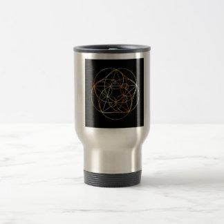 Fibonacci Spiral- The sacred geometry Travel Mug