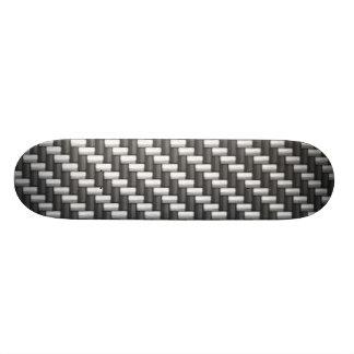 Fibre de carbone de Carbonfiber (faux) Skateboard Old School 21,6 Cm