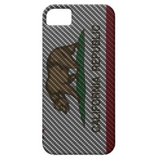 Fibre de carbone de la Californie Coque iPhone 5