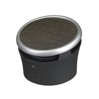 Fibre de carbone haut-parleur bluetooth