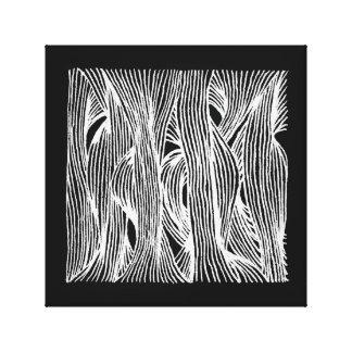 fibre LINEs Canvas Print