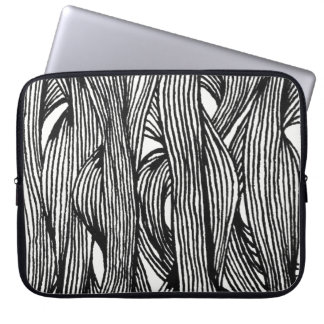 fibre LINEs Laptop Sleeve