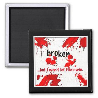 Fibro broken logo= magnet