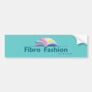 Fibro Fashion Bumper Sticker