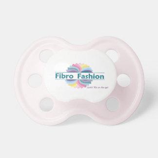 Fibro Fashion Pink Baby Pacifier