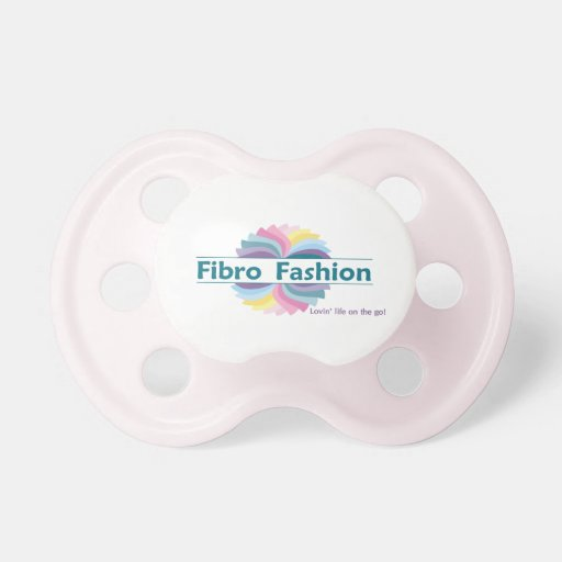 Fibro Fashion Pink Baby Pacifier