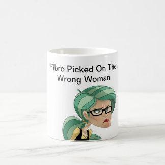 Fibro Picked On The Wrong Woman Coffee Mug