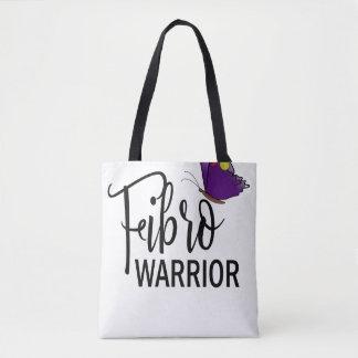 Fibro Warrior Tote With Black Handles