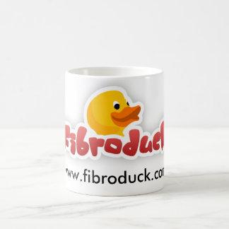 FibroDuck Mug - White logo