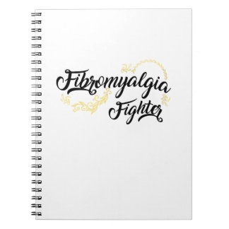 Fibromyalgia Awareness Fighter Ribbon Notebooks