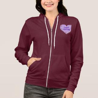 Fibromyalgia Awareness Hoodie Jacket