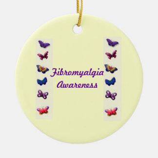 Fibromyalgia Awareness Ornament