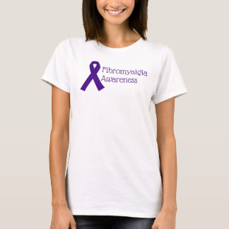 Fibromyalgia Awareness Ribbon T-Shirt