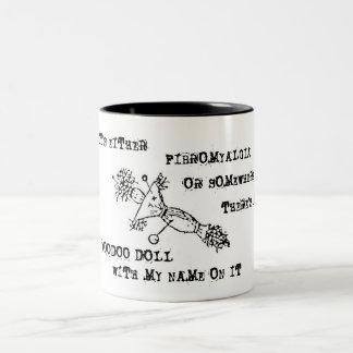 Fibromyalgia Awareness Voodoo Doll Mug