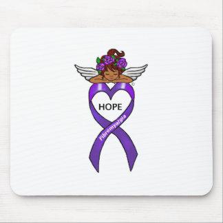 Fibromyalgia Ethnic Hope Angel Mouse Pad