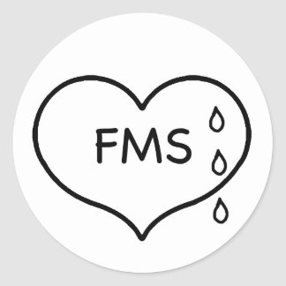 Fibromyalgia Humaneness Campaign Stickers