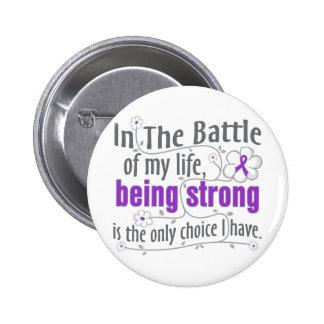 Fibromyalgia In The Battle 2 Inch Round Button