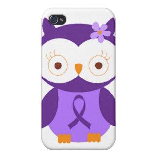 Fibromyalgia Owl iPhone 4 Cover