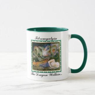 Fibromyalgia, The Dragon Within... Mug