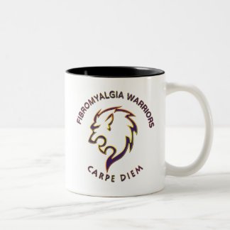 Fibromyalgia Warriors - Left Handed Coffee Mug