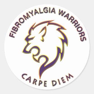 Fibromyalgia Warriors - Sticker