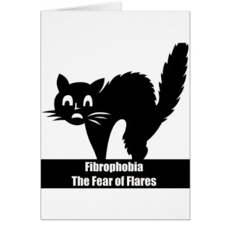 Fibrophobia Fibromyalgia Awareness Greeting Card