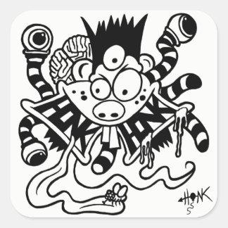 Fickles The Clown Mutant Honk Sticker