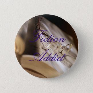 Fiction Addict 2 Inch Round Button