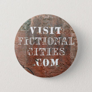 Fictional Cities wall badge 2 Inch Round Button